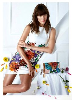 Catherine McNeil by Camilla Akrans for Blumarine SS 2015 campaign