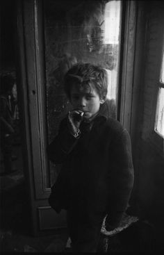 He blew a puff of smoke in my direction, the cigarette hanging carelessly out of the side of his mouth. He couldn't have been older than ten years old. Dark Photography, Black And White Photography, Portrait Photography, Vintage Photo Booths, Vintage Photos, Henri Cartier, Aesthetic Pictures, Old Photos, Character Inspiration