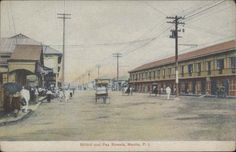 Bilibid Street and Paz Street, Manila Regions Of The Philippines, Manila Philippines, Fort Smith, Old World Charm, Pinoy, Old Photos, The Past, Poster, Street View