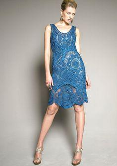 CROCHET moda exclusiva crochet vestido  por por LecrochetArt, $520.00