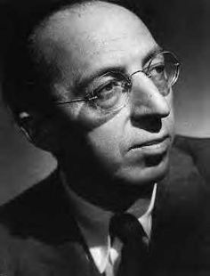 "Aaron Copland (1900 - 1990) Composer of ""American"" classical music, including the ballets ""Billy the Kid"", ""Rodeo"", and ""Appalachian Spring"""