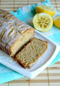 Lemon zucchini bread - skipped the glaze. Hubby and I both like this one. So fresh. I used 2 cups all purpose flour, and 1% milk instead.