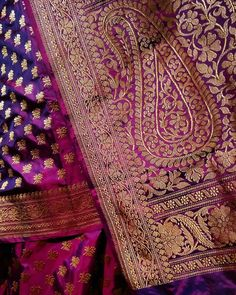 No photo description available. Bridal Silk Saree, Soft Silk Sarees, Saree Wedding, Banaras Sarees, Saree Dress, Saree Blouse, Indian Fashion Trends, Trendy Sarees, Elegant Saree