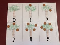 counting and fine motor practice with printables