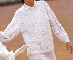 Vintage Knitting Pattern Original Instructions for a Ladies Spring/Summer Jumper