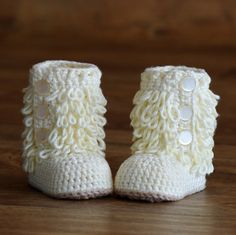 Crochet Patterns Furrylicious Boots