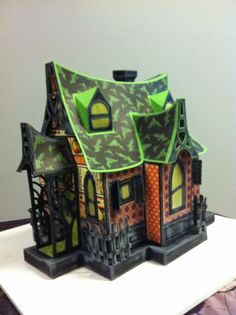 My Paper Dreamz Cute Halloween, Holidays Halloween, Halloween Crafts, Halloween Ideas, Haunted Dollhouse, Haunted Houses, Haunted Forest, Paper Houses, Gnome Garden