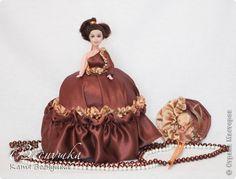 Кукла-шкатулка Шоколадное настроение | Страна Мастеров