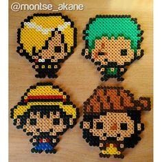 One Piece hama beads by montse_akane
