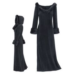 Black Cat Hooded Dress - New Age & Spiritual Gifts at Pyramid Collection