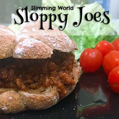 Sloppy Joes are a favourite family meal in the US - I've made them Slimming-World friendly (syn-free without the roll) and you can make them in the slow cooker too! An easy and tasty dinner idea! Slow Cooker Sloppy Joes, Slow Cooker Mince, Sloppy Joes Recipe, Slow Cooker Recipes, Beef Recipes, Recipies, Slow Cooker Slimming World, Slimming World Dinners, Slimming World Diet