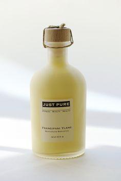Just Pure Frangipani Ylang Moisturising Lotion | Biteable Beauty