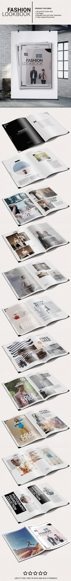 Fashion Lookbook on Behance
