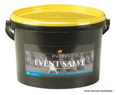 Lincoln Event Salve A specialist product for the amateur and professional event rider This easy to apply greasy cream is ideal.