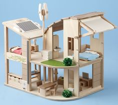 Plan Toys' The Green Dollhouse
