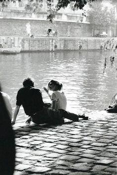 Chamade - Vintage French Photos- Claude Renaud - Paris 1963