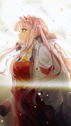 Zero two -darling in the franxx Anime Girl Cute, Anime Art Girl, Manga Art, Anime Girls, Otaku Anime, Manga Anime, Familia Anime, Waifu Material, Film D'animation