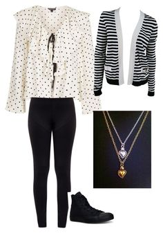 """rainy spring day"" by dixielarouge on Polyvore featuring Topshop, Norma Kamali, Chanel and Converse"