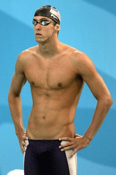 why yes, i have always been a fan of olympic swimmers. why do you ask?