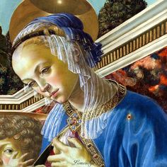 Andrea del Verrocchio  Virgin and Child with Two Angels
