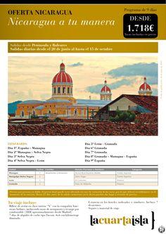 Nicaragua a tu manera.9 días desde 1.718 € taX inclu.Salidas desde Península y Baleares - http://zocotours.com/nicaragua-a-tu-manera-9-dias-desde-1-718-e-tax-inclu-salidas-desde-peninsula-y-baleares/
