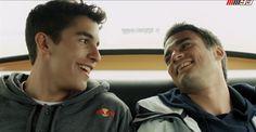Marc Marquez and Dani Pedrosa.