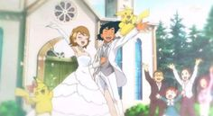 Omg amourshipping wedding