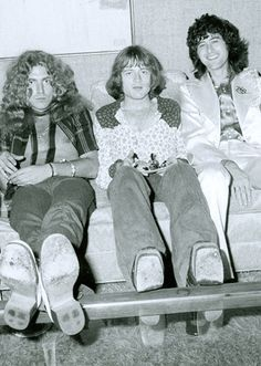 ♡♥Robert Plant, John Paul Jones and Jimmy Page-Led Zeppelin♥♡