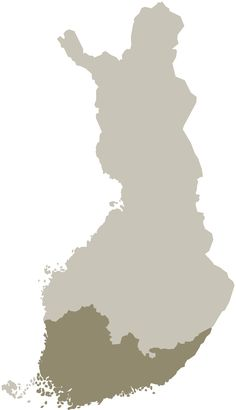 the majority of the Finnish population is concentrated in a relatively small area of the land area. The picture shows the highlighted area is home to more than 60 per cent of Finnish (Uusimaa, Kymenlaakso, South Karelia, Pirkanmaa, Southwest Finland and Satakunta). Väestön.keskittyminen.Suomessa - Suomi – Wikipedia