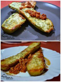 Retete de mancaruri: Din ciclul simplu, ieftin si bun - Dovlecei umplut... Baked Potato, French Toast, Potatoes, Mary, Baking, Breakfast, Ethnic Recipes, Blog, Patisserie