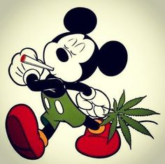 Cannabis smells good to you, not so much to the police or neighbors. Make everyone happy with edible marijuana! Make your own delicious Dragon Teeth mints or Cannabis chocolates; small candies you can take and use anytime, any place! MARIJUANA - Guide to Disney Cartoons, Retro Disney, Marijuana Art, Medical Marijuana, Mickey Mouse Wallpaper, Stoner Art, Weed Art, Mickey Y Minnie, Puff And Pass