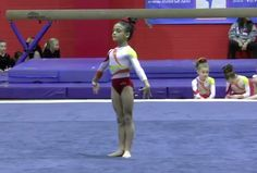 Winning golds and stealing hearts. | Young Laurie Hernandez