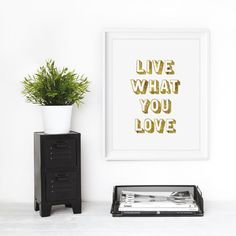 Live What You Love by The Motivated Type #inspiration #quote #motivation