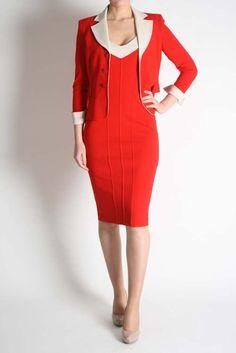 Isabel De Pedro Red Blazer Cold Shoulder Dress, Bodycon Dress, Dresses, Fashion, Vestidos, Moda, Body Con, Fashion Styles, Dress