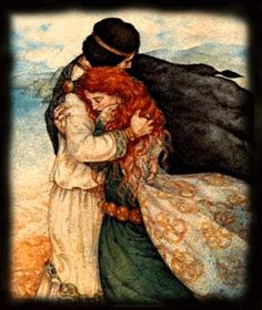 It's a real life fairy-tale, a love story to rival all the greats: Lancelot and Guinevere, Tristan and Isolde, Romeo and Juliet. Illustrations, Illustration Art, Arte Obscura, Great Love Stories, Fairytale Art, Pre Raphaelite, Fantasy Art, Fairy Tales, Sketches