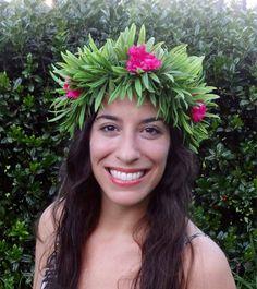Moana Flower Crown 10 Ideas In 2020 Flower Crown Moana Birthday Crown