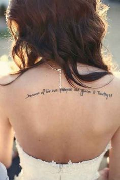 2 Timothy 1:9 | 30 Inspirational Bible Verse Tattoos