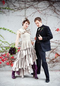 offbeat wedding fabulousness