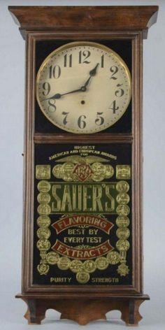 Advertisement Clock.