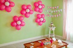 easy birthday party decorating | decoration ideas, birthday party balloons settings, celebrate birthday ...