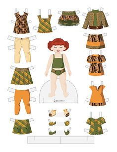 Paper Doll School: Toddler Fashion Friday - Sparrow