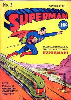 Superman Comic Books | comic art inspiration | digital media arts college | www.dmac.edu | 561.391.1148