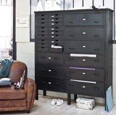 indiustriele ladenkast 27 laden Giga meubel