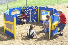 playground equipment for special needs kids | ... Structures :: Kiddie Korral :: Special Needs Playground Equipment