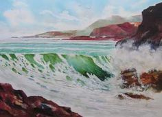 SEASCAPES IN WATERCOLOR WITH DEMONSTRATIONS. Image demo of a breaking wave. COLORS IN WATERCOLOR. COLOR SCHEMES. MIXING WATERCOLOR PAINT. PAINT RATIO. ... How to inject light and life into your Watercolor Paintings,