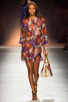 Blumarine Spring 2015 Ready-to-Wear - Collection - Gallery - Look 1 - Style.com