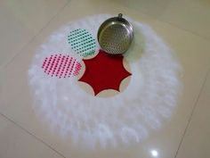 Very easy and tricky diwali ki rangoli design by DEEPIKA PANT - YouTube