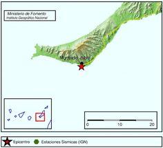 Terremoto Fuerteventura de tres grados