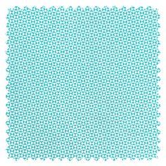 """Petit Pan fabric : """"Chardon"""" bleu © www.petitpan.com"""