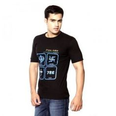 Fundoo T Black Tee for Boys